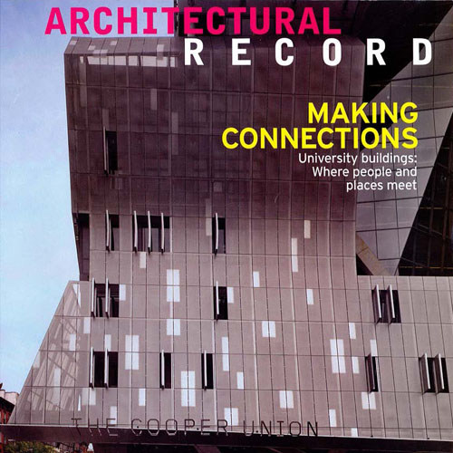 "Architectural Record ""2009 Awards of Excellence"" November 2009"