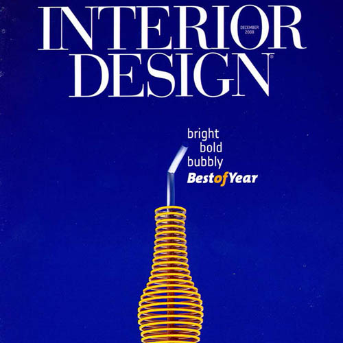"Interior Design Magazine ""Best of the Year"" December 2008 New York"