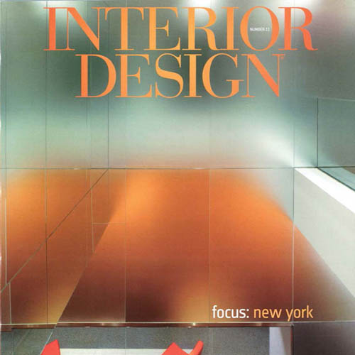 "Interior Design Magazine ""Skid Row No More"" 2010 New York"