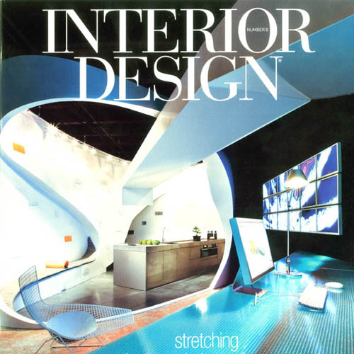 "Interior Design Magazine ""White Hot Cool"" June 2006 New York"