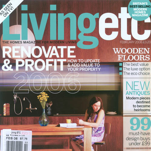 "Living etc. ""Style in the City"" February 2006 New York"