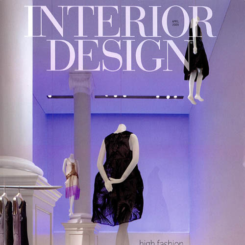 "Interior Design Magazine ""Barbie's Dream House"" April 2009 New York"