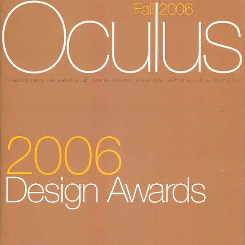 "Oculus 2006 Design Awards ""Loeb Apartment, Miami FL"" Vol. 68, No. 4"