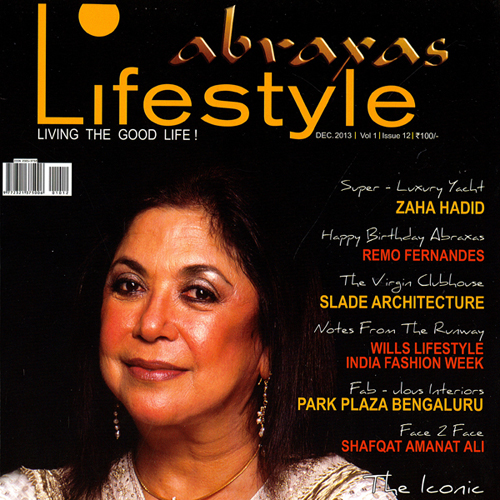 "Abraxas Lifestyle Magazine ""The Virgin Clubhouse"" December 2013 India"