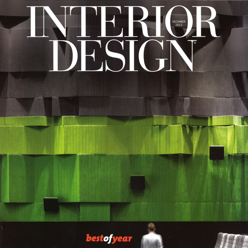 "Interior Design Magazine  ""Best of Year"" December 2013 USA"