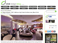 "Retail Design Blog ""Virgin Atlantic JFK Clubhouse""  July 11, 2013"