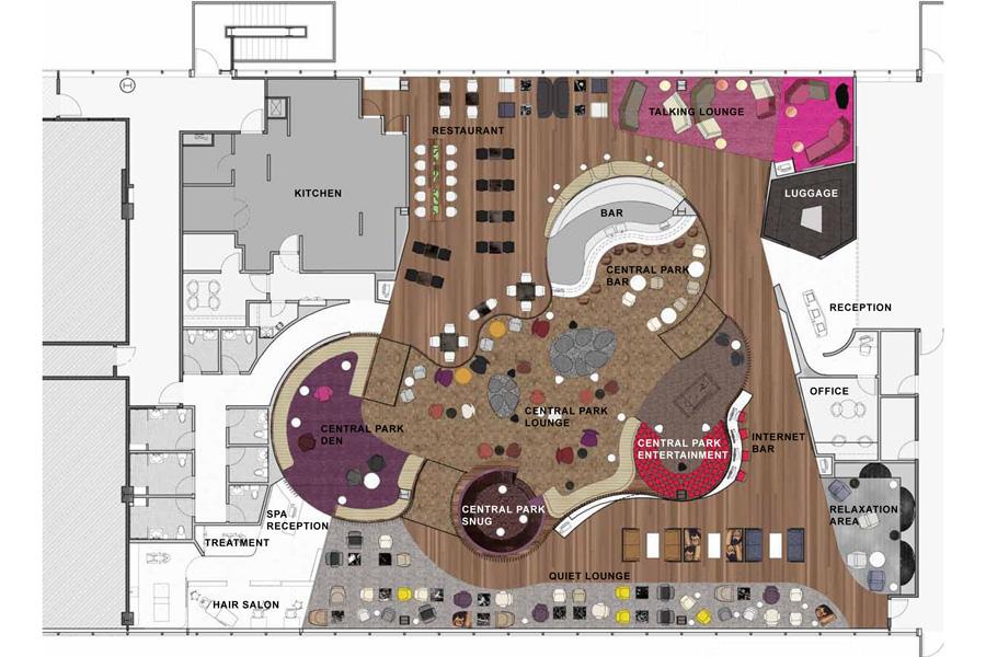Virgin Atlantic Jfk Clubhouse Slade Architecture