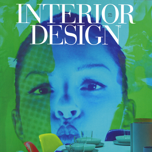 "Interior Design Magazine ""DIFFA Dining by Design"" April 2014 USA"