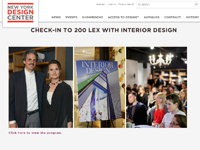 "New York Design Center   ""Check-in to 200 Lex with Interior Design"" April 24, 2014"