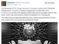 "Designtex   ""DIFFA: Design Industries Foundation Fighting AIDS"" May 08, 2014"