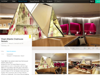 "Architizer  ""Virgin Atlantic Clubhouse Newark"" June 2013"