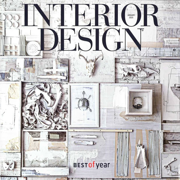 "Interior Design Magazine   ""Best of the Year""   January 2015   USA"