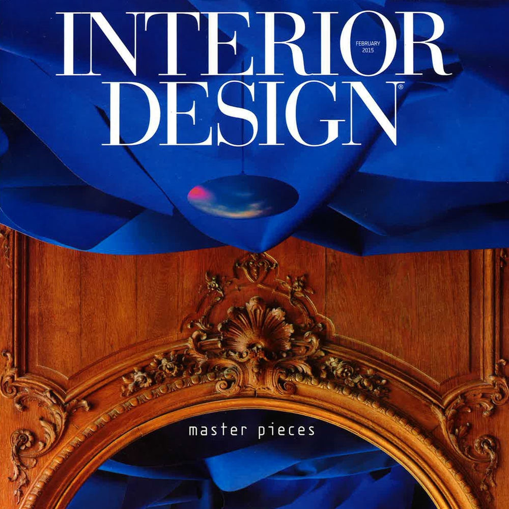"Interior Design Magazine ""Covering the Spectrum"" February 2015 USA"