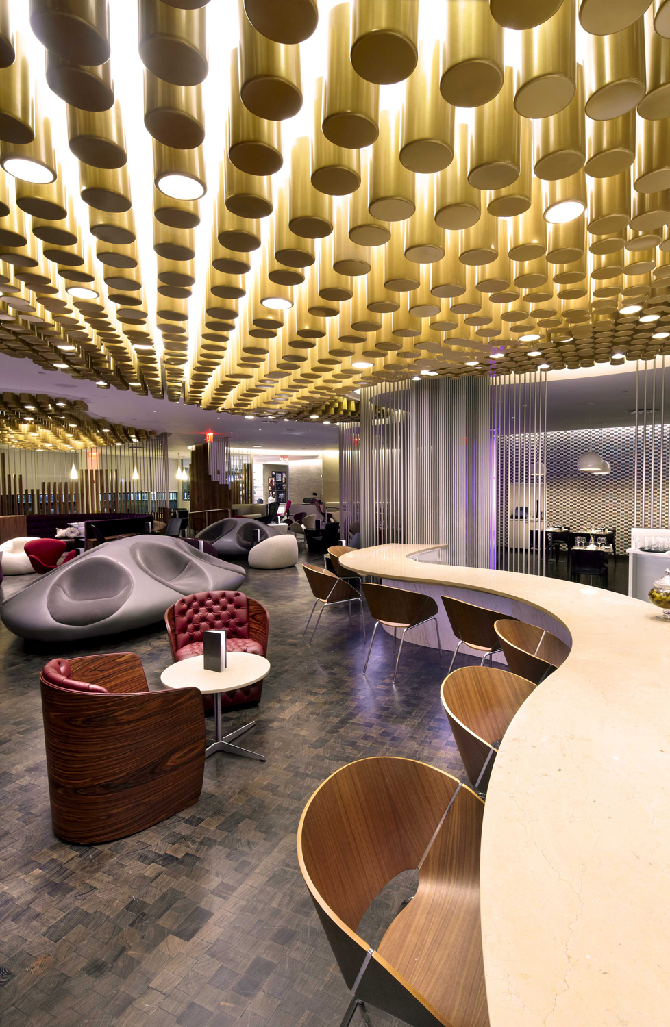 Virgin Atlantic JFK Clubhouse SLADE ARCHITECTURE