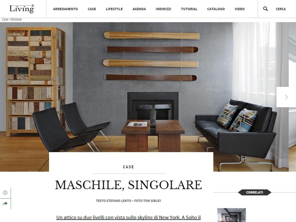 "Living Corriere ""Maschile, Singulare"" June 29, 2015"