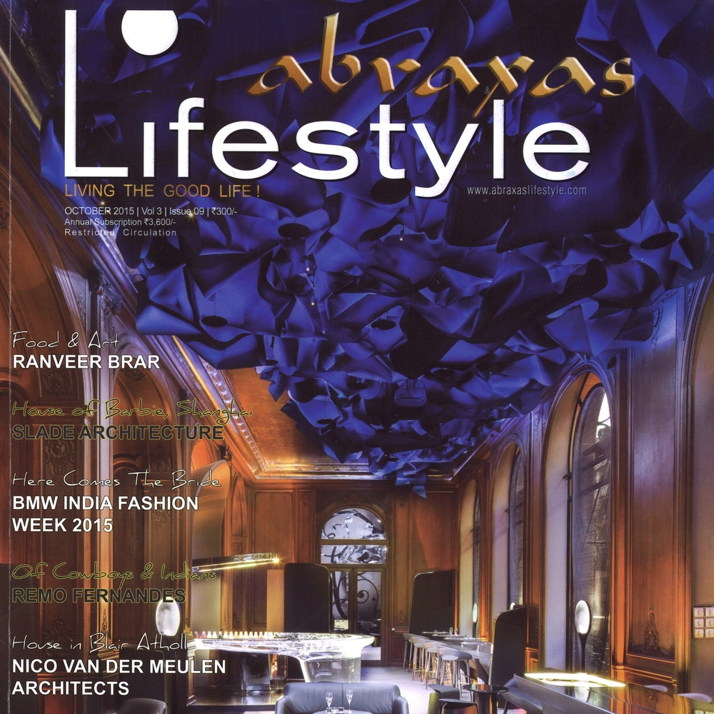 "Abraxas Lifestyle Magazine   ""House of Barbie""   October  2015   India"