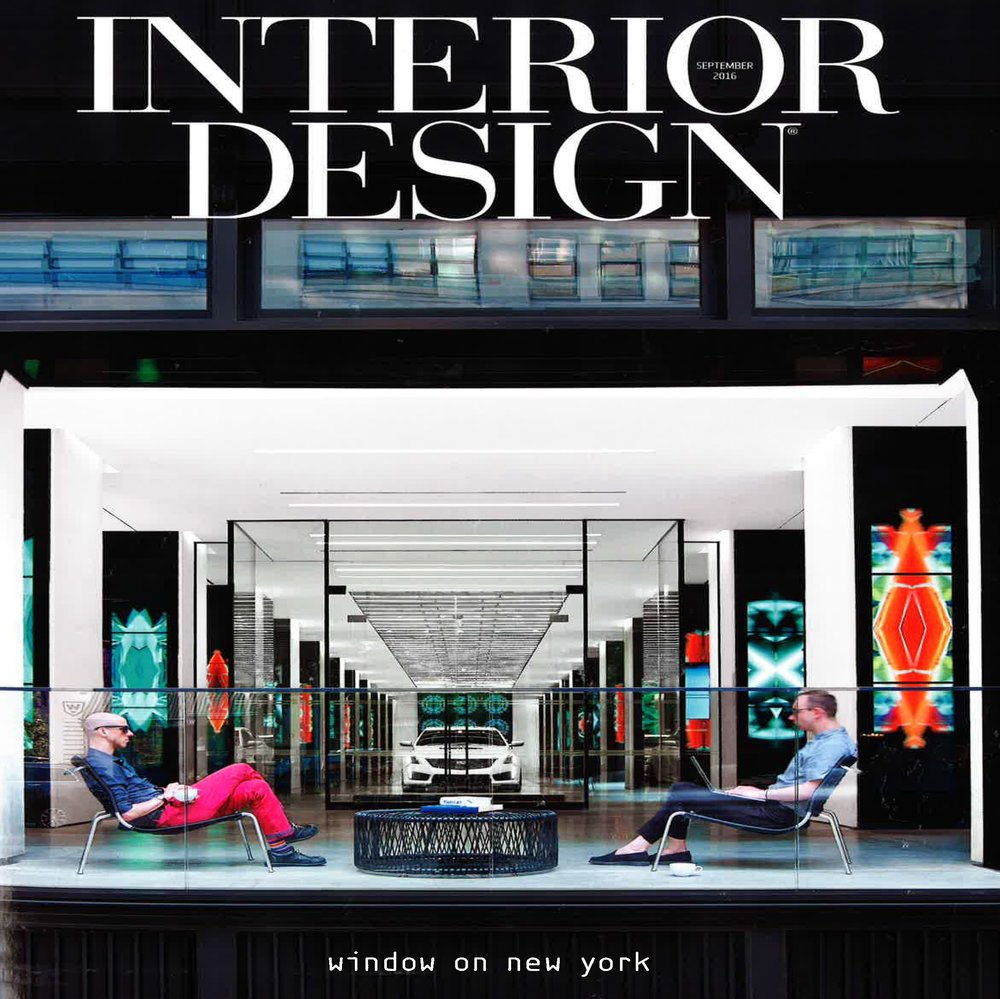 "Interior Design Magazine ""If the shoe fits"" 2016 US"