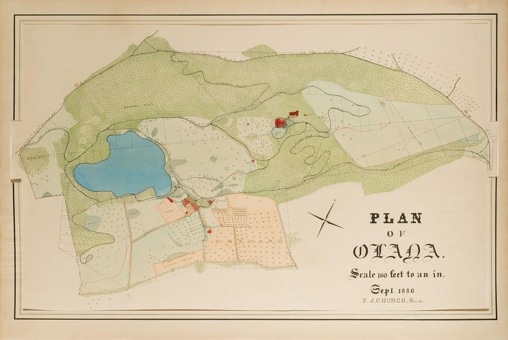 1886 Plan of Olana.jpg