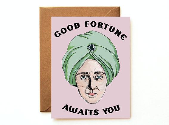 Fortune Teller Card
