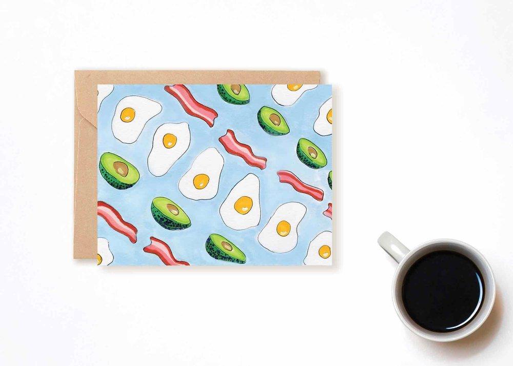 SoCal Breakfast Card