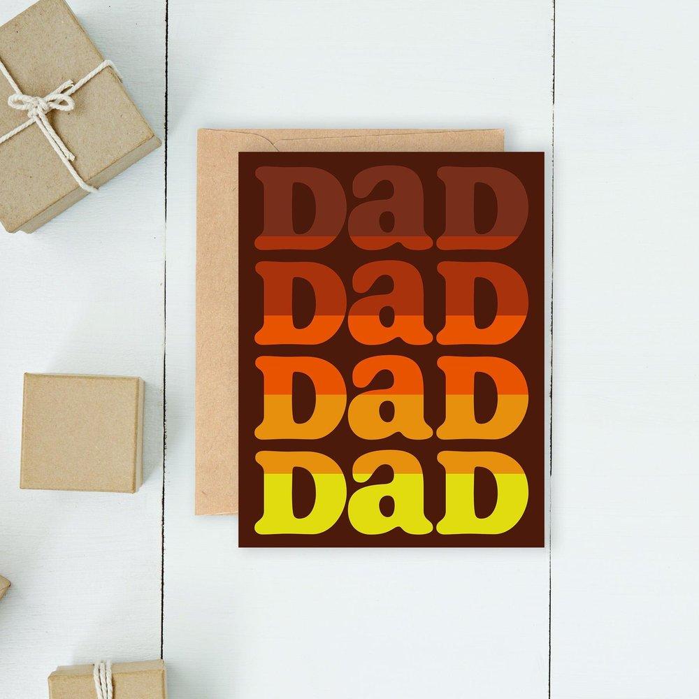 Dad Repeat Card