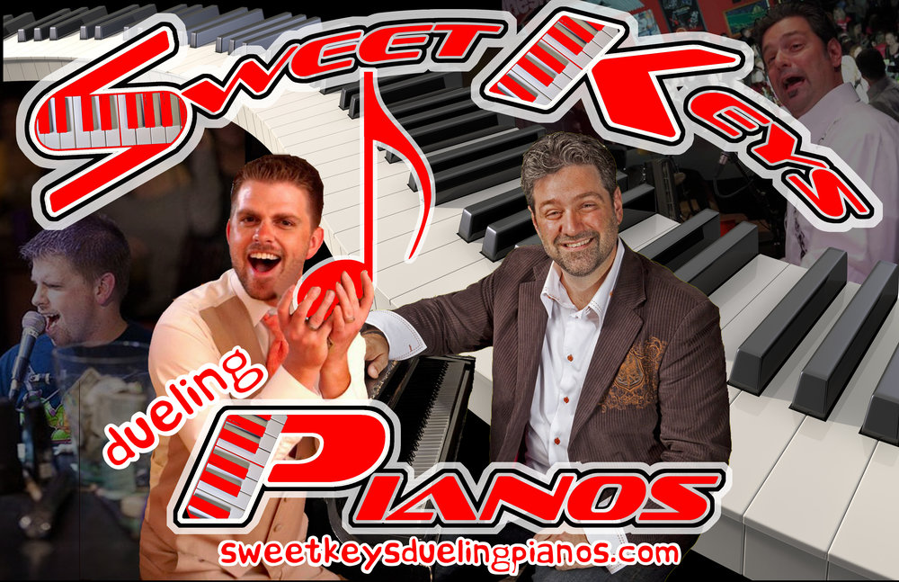 Check out  Sweet Keys Dueling Pianos  at  WWW.SWEETKEYSDUELINGPIANOS.COM