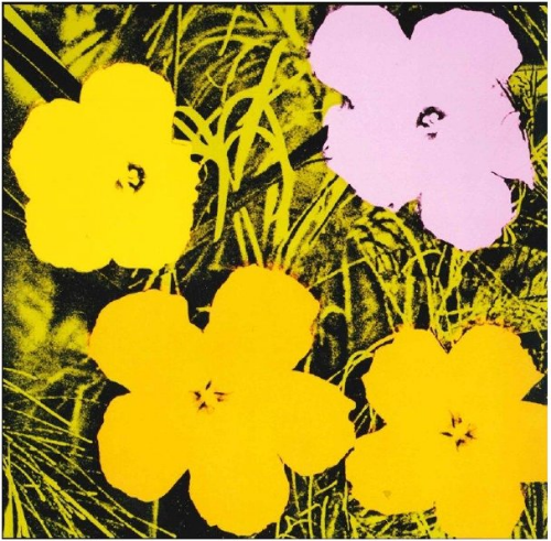 Andy Warhol,  Flowers, 1970  Image and Artwork © 2015 The Andy Warhol Foundation for the Visual Arts, Inc. / Licensed by ARS