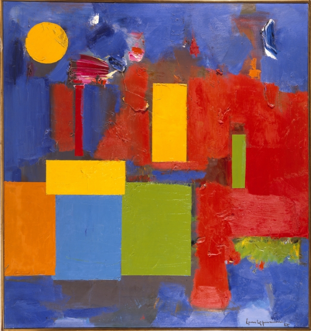 Hofmann, Hans (1880-1966) Rising Moon, 1965. Location : Private Collection. © 2015 Estate of Hans Hoffman / Artists Rights Society (ARS), New York. Photo © Art Resource, NY.