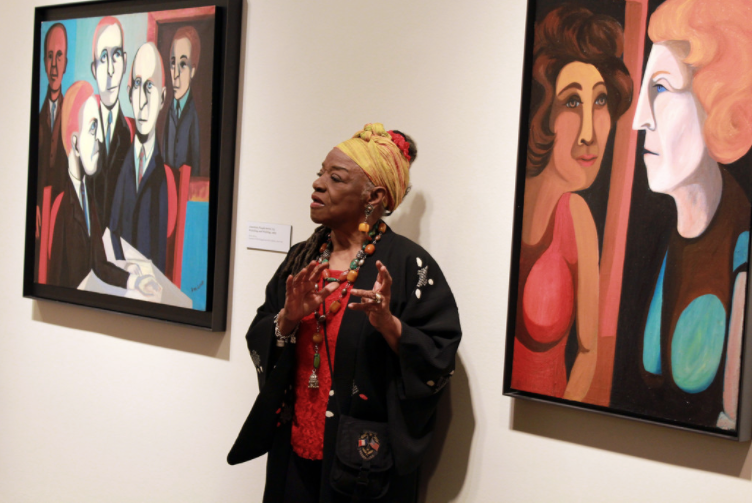 2013 exhibition American People, Black Light Faith Ringgold's.png