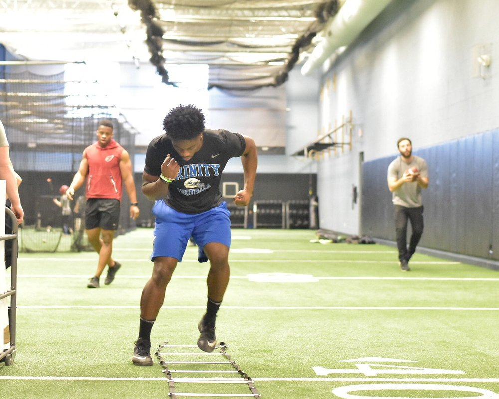 Similar to the hips, tight ankles will inhibit athletes from getting into the right positions to perform and build speed efficiently, forcing the athletes to waste movement, and as a result, slowing them down.