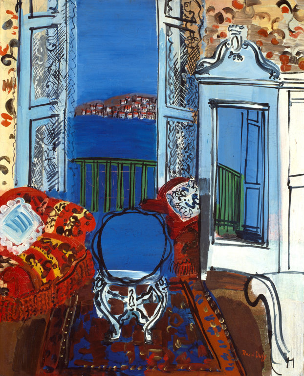 Raoul Dufy Open Window, Nice