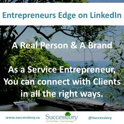 Entrepreneurs Edge. LinkedIn. (Successiory)