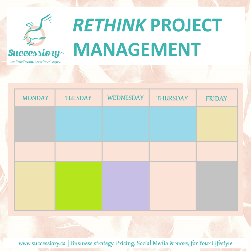 Your Schedule.    Rethink Project Management  .