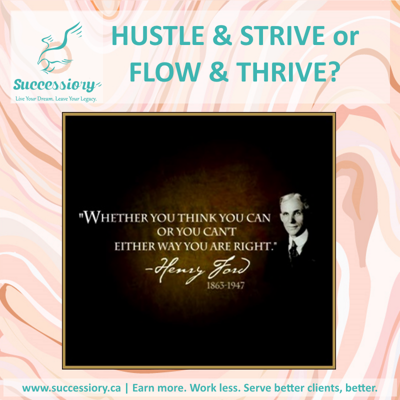 Know Your Style.  Hustle or Flow?