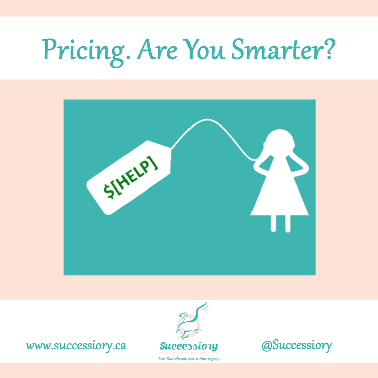 Pricing. Are you smarter?