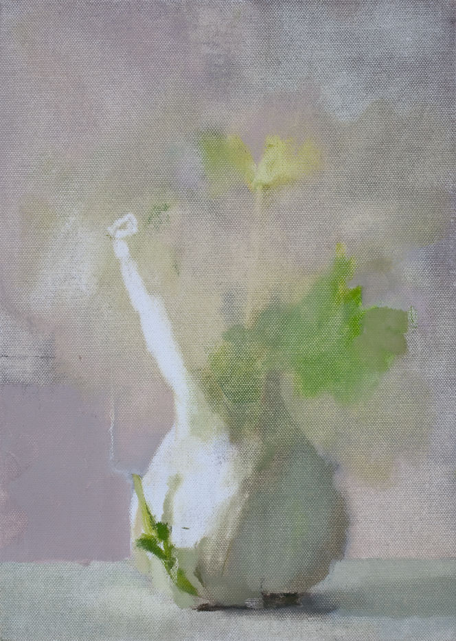 Untitled (Fe 29), 2009,Oil on canvas laid on board , 35.5 x 25.5 cm