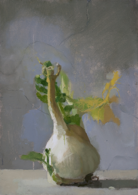Untitled (Fe 32), 2009, Oil on canvas laid on board ,  35.5 x 25.5 cm