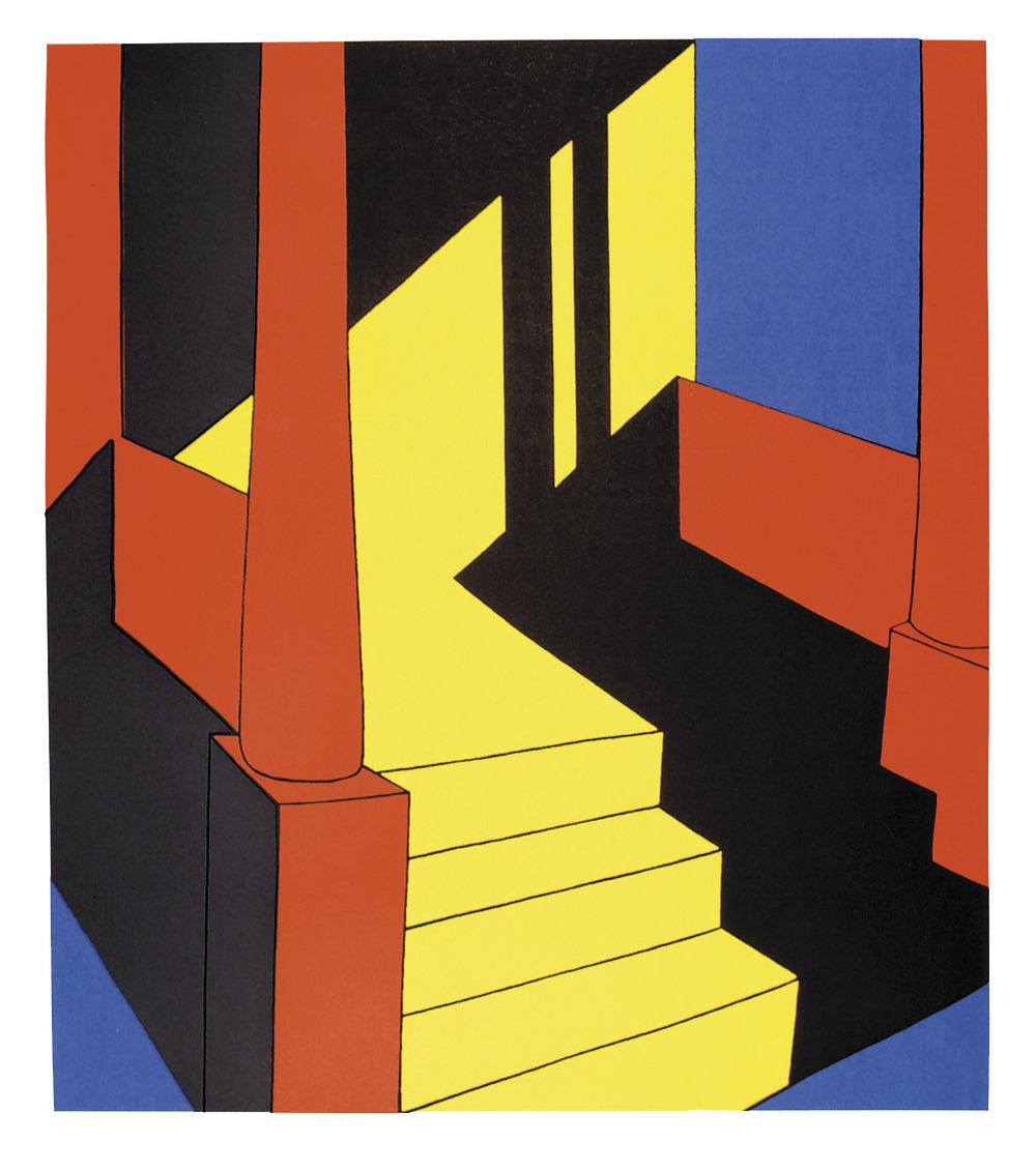 Bright Day, Katherine Lubar, silkscreen print, 81 x 77cm, £205