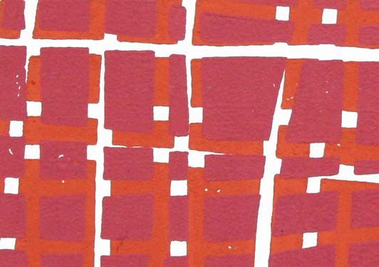 VERA BOELE-KEIMER Woodblock Red Pink (Detail) 2012.png