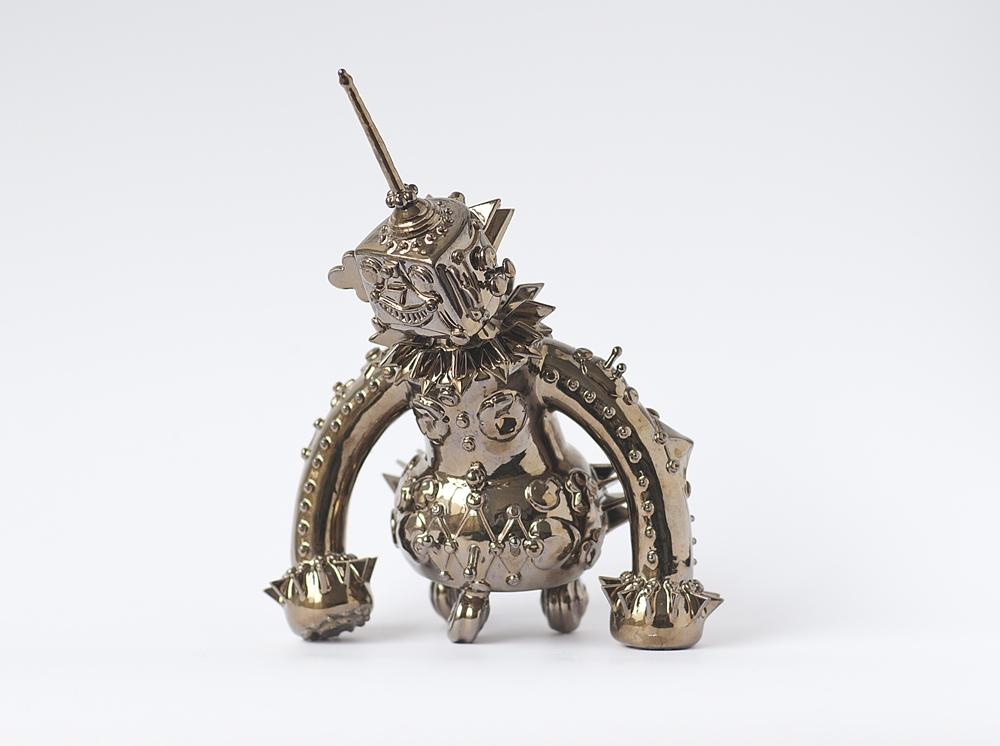 Malene Hartmann Rasmussen, Robotchen,2008,Ceramics,25 x 20 cm (approx)