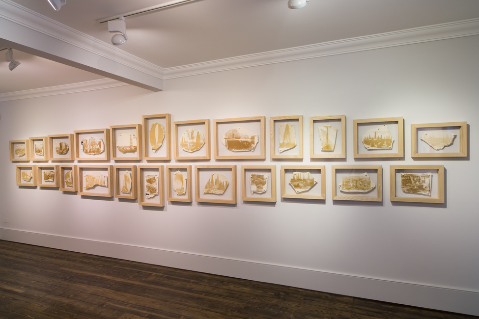 Crude Oil Works (installation view)