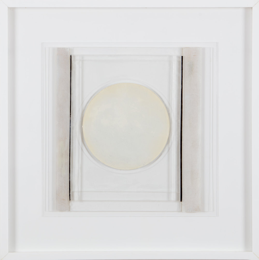 Square Relief II, 2008, perspex, 48 x 48 cm