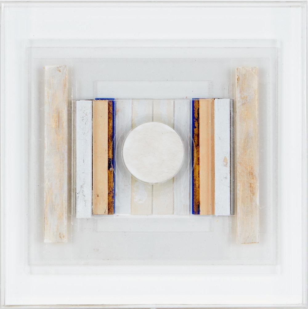 Square Relief LXI, 2012, perspex, 36 x 36 cm
