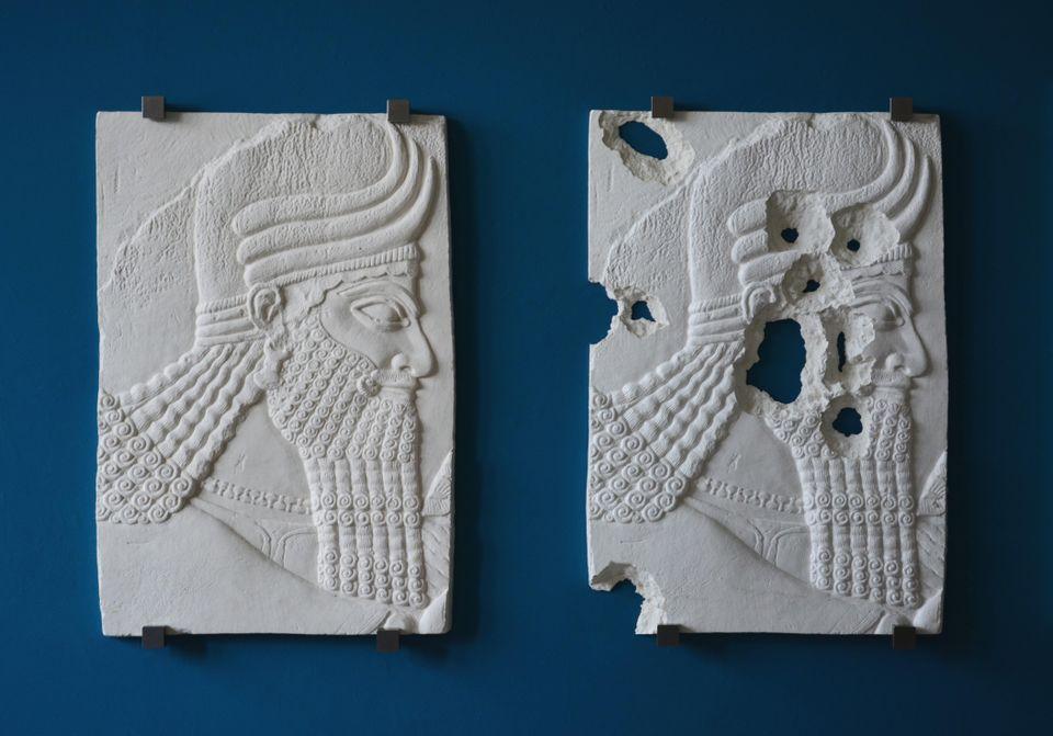 assyrian head