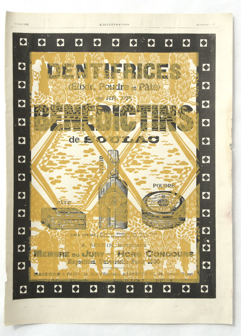 Dentifrices Bénédictins