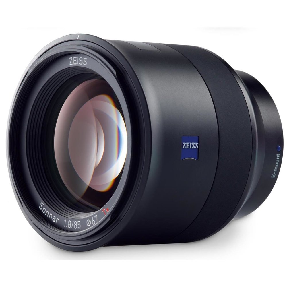 Zeiss Batis 85mm f/1.8 (FE)- this was Jason's favorite portrait lens before he started using the 85mm G Master. This is an excellent lens for the price and offers a more affordable, high end professional native lens option for Sony users.  It also is a fantastic lens for video purposes.