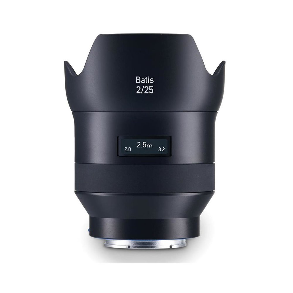 Zeiss Batis 25mm f/2 (FE) lens- this is a very light weight wide angle and wide aperture lens that is very convenient for using in low light situations where wide angle hand held shots are required.  The colors from this lens are very nice and the lens is sharp.  This is a nice lens for video work in low light conditions.