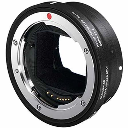 Sigma MC-11 Adapter for Canon lenses - this is another adapter comparable to the Metabones.  It allows use of Canon mount glass with Sony mirrorless.  It has additional capabilities when using Sigma glass (for Canon mount) on Sony bodies.  Best used with the A7Rii, A6500 and A6300.
