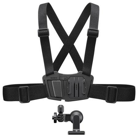 Sony Action Camera Chest Harness - this is Jason's favorite harness to use with the Sony Action Cam system.  Why?  Because head mounts can lead to dizzy and vomit inducing footage whereas the chest movement of a person is far less than that of their heads meaning the footage is far more appealing.  It's comfortable and won't slip off.  Great for solo shooters who want to film their footage.