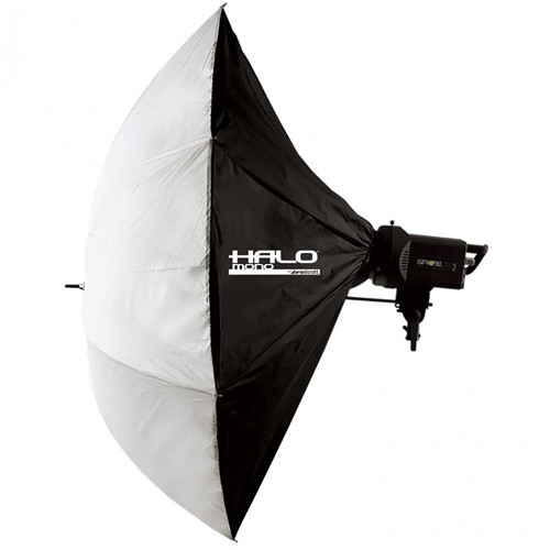 "Westcott Halo Mono Softbox (45"")  - this beautiful umbrella-style setup is one of Jason's favorite on-the-go modifier.  It's light weight, easy to use and has a very simple setup.  If you are a photographer working alone, or with minimal help, this setup is effortless to hold or place on a light stand or C-stand."